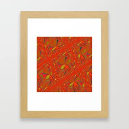 Oriental Holiday Framed Art Print