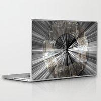 buzz lightyear Laptop & iPad Skins featuring Lightyear by DM Davis