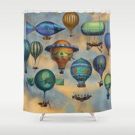 Aviation Flotation Shower Curtain