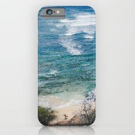 Surfer meets Sea - Diamond Head / Oahu / Hawaii iPhone Case