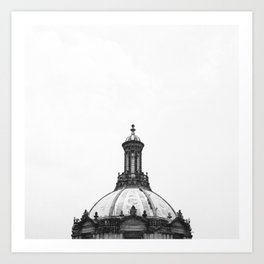 Minimal City I Art Print