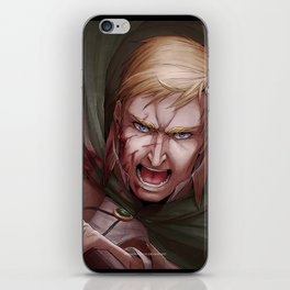 Shingeki no Kyojin - Erwin Smith iPhone Skin