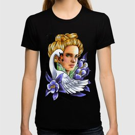 Victorian woman - The Swan. T-shirt