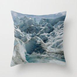 Glaciar Petiro Moreno Throw Pillow