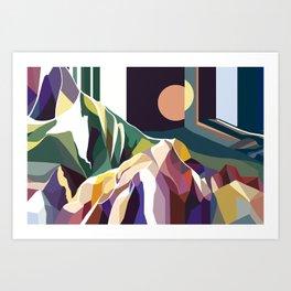 At Mont-Rebei Art Print