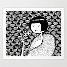 No petal falls Art Print