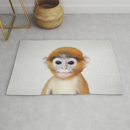 Baby Monkey - Colorful Rug