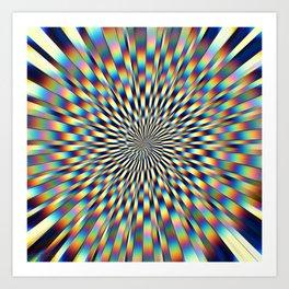 Divergence 2 Art Print