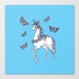 Cute Unicorn Canvas Print