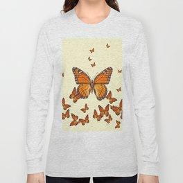MONARCH BUTTERFLY SWARM Long Sleeve T-shirt