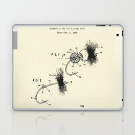 Artificial Dry Fly Fishing Lure-1969 Laptop & iPad Skin