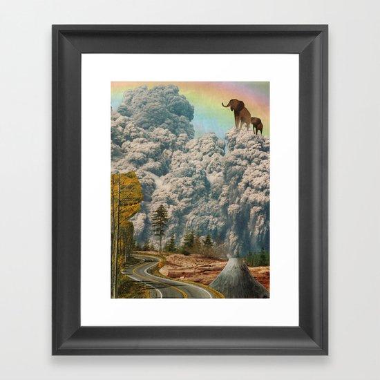 fiction of fantasy Framed Art Print