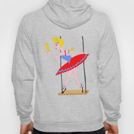 Circus Trapeze Artist Circus Party Hoody