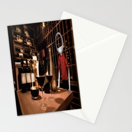Corky in the cellar Stationery Cards