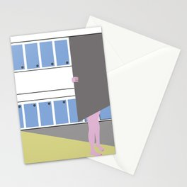 Fridge visits Stationery Cards
