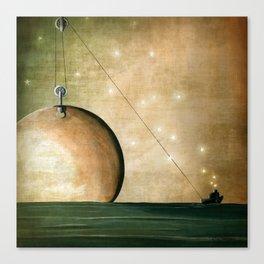 A Solar System Canvas Print