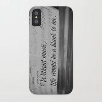 jane austen iPhone & iPod Cases featuring Music Jane Austen by KimberosePhotography