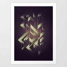 Act1 Art Print