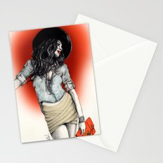 Haute Red Stationery Cards