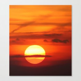 Sunset at Devil's Dyke (UK) Canvas Print
