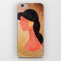 aladdin iPhone & iPod Skins featuring Aladdin Quote by Melissa Vibar