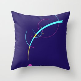 Separation and Unity Throw Pillow