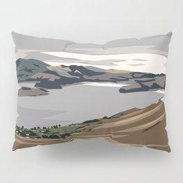 Cass Bay, New Zealand Pillow Sham
