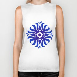 Mandala for the good communication Biker Tank