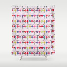 Little Maids all in a Row Shower Curtain