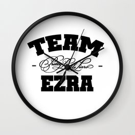 PLL - Team Ezra Pretty Little Liars Wall Clock