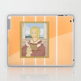 Lady with Unicorn by Raphael Laptop & iPad Skin