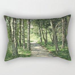 walk in the bog Rectangular Pillow