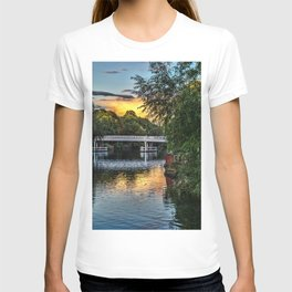 Above The Toll Bridge At Pangbourne T-shirt