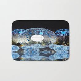 Champs-Élysées Christmas Lights Bath Mat