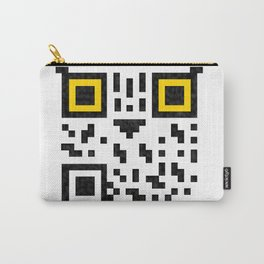 Owl QR code  Carry-All Pouch
