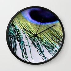 peacock II Wall Clock