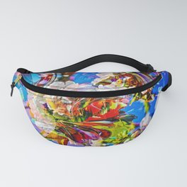 Abstract Perfection 14  Spring Fanny Pack
