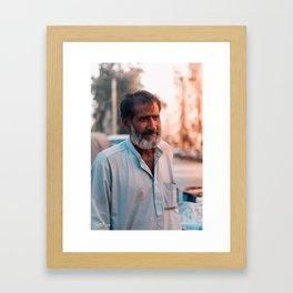 Junk Collector Framed Art Print