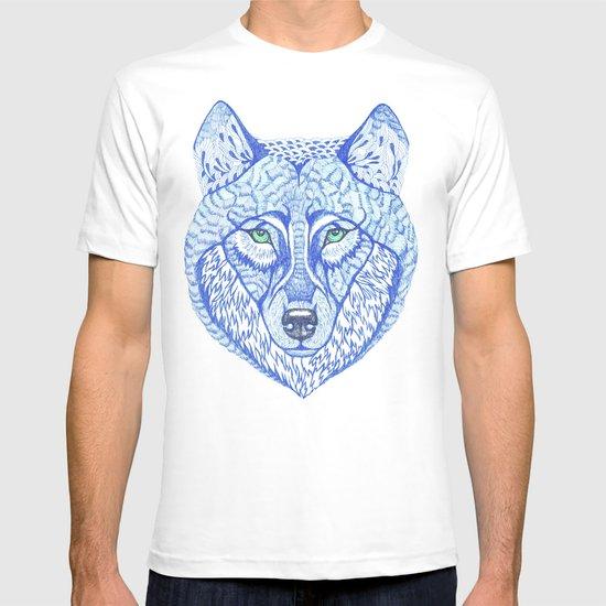 ice wolf T-shirt