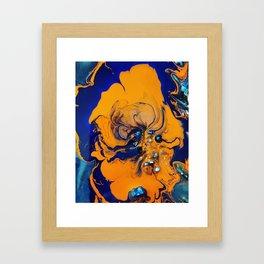 Hazey Dazey Framed Art Print