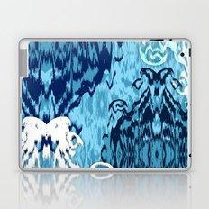 Ikat Medallions: Blue Laptop & iPad Skin