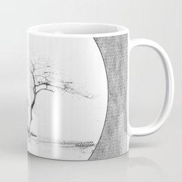 Scots Pine Paper Bag Grey Coffee Mug