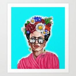 Dope Frida Art Print