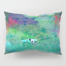 Cat Island in the City Pillow Sham