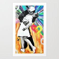 Kiss - Time Square Kiss Art Print