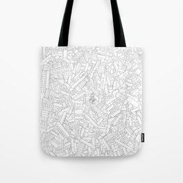 The Lego Movie —Colouring Book Version Tote Bag
