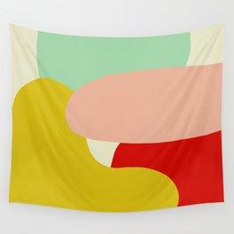 creativ colorful retro design Zamzummin Wall Tapestry