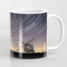 Windmill on a starry night Mug