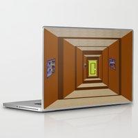 door Laptop & iPad Skins featuring Door by Holly Williams