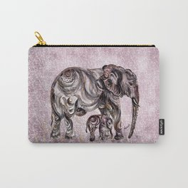 Mom Eephant Carry-All Pouch